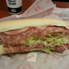 Photo taken at Jimmy John's by Wayne P. on 1/8/2015