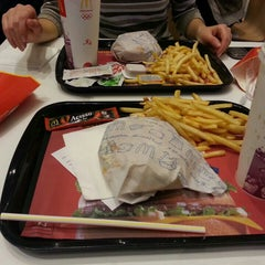 Photo taken at McDonald's by tugba on 2/19/2013