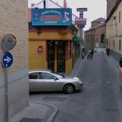 Photo taken at Sidrería Arturo by SalvaGrizz on 2/4/2013