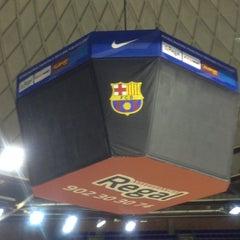 Photo taken at Palau Blaugrana by Cem T. on 3/14/2013