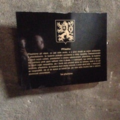 Photo taken at National Memorial to the Victims of the Heydrich Terror by Honzík S. on 4/2/2014