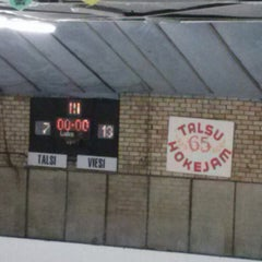 Photo taken at Talsu hokeja klubs (Talsi Ice Hockey club) by Anete K. on 12/29/2013