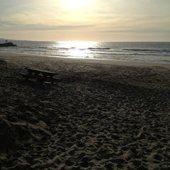 Photo taken at Moss Landing State Beach by Jacqueline P. on 12/24/2012