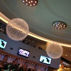 Photo taken at Atrium Lounge - Marriott Marquis by Leo P. on 2/2/2013