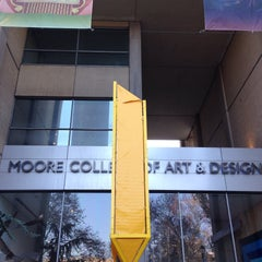 Photo taken at Moore College of Art & Design by Dywuan B. on 12/5/2015