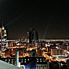 Photo taken at Al-Faisaliah Tower by Meshari A. on 12/10/2012