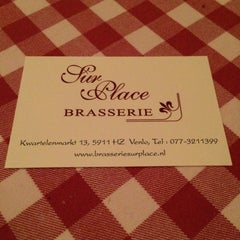 Photo taken at Brasserie Sur Place by Luud W. on 9/11/2014
