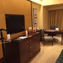 Photo taken at Shangri-la Hotel by Bryan T. on 9/21/2015