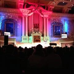Photo taken at Mechanics Hall by Dane L. on 12/11/2012