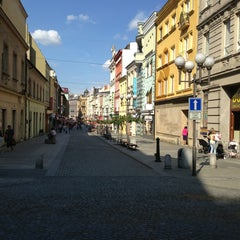 Photo taken at Ostrožná | Pěší zóna by Přemysl B. on 8/30/2013