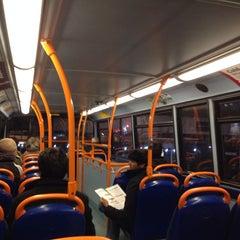 Photo taken at TfL Bus 8 by Přemysl B. on 11/23/2013