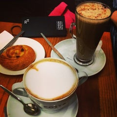 Photo taken at Costa Coffee by Ian M. on 1/29/2014