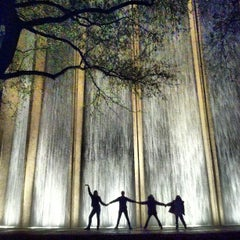 Photo taken at Gerald D. Hines Waterwall Park by TipsonRoadTripping on 3/26/2013