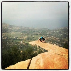Photo taken at Potato Chip Rock by TipsonRoadTripping on 3/19/2013