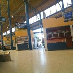 Photo taken at Terminal de Buses by Cynthia M. on 4/19/2013