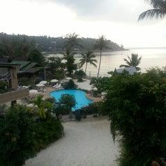 Photo taken at Haadlad Prestige Resort And Spa Koh Phangan by Evgenia I. on 3/7/2013