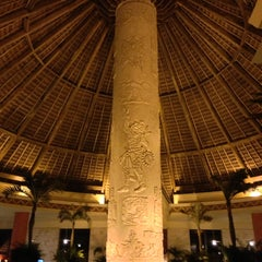 Photo taken at Gran Bahia Principe Tulum by Алексей П. on 4/22/2013