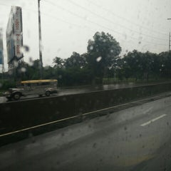 Photo taken at NLEx Bocaue Toll Plaza by Cessyl F. on 7/8/2015