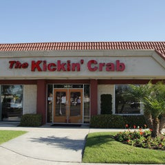 Photo taken at The Kickin' Crab by OC Weekly on 8/4/2014