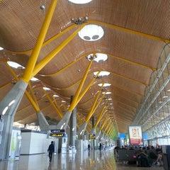Photo taken at Aeropuerto Adolfo Suárez Madrid-Barajas (MAD) by Salvador V. on 2/23/2013