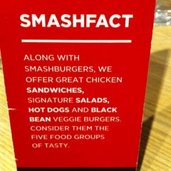 Photo taken at Smashburger by Nicolas D. on 11/28/2012