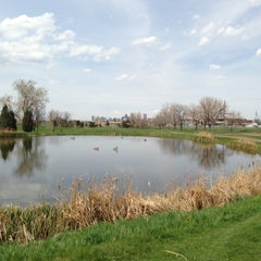 Photo taken at Overland Park Golf Course by Ellis B. on 5/13/2013