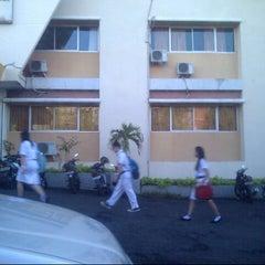 Photo taken at SMA Kristen Eben Haezar by Vhee V. on 11/23/2012