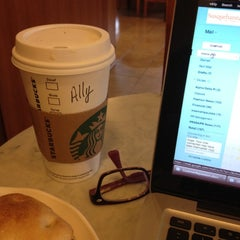 Photo taken at Starbucks by Ally S. on 9/18/2012