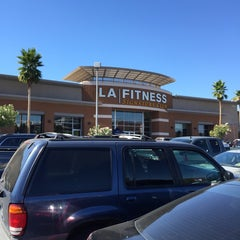 Photo taken at LA Fitness by Turki A. on 10/6/2014