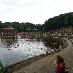 Photo taken at Peasholm Park by Adrin A. on 6/22/2014