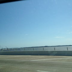 Photo taken at The Hathaway Bridge by Sandeep P. on 3/10/2013