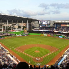 Photo taken at Marlins Park by Janeezy P. on 4/8/2013