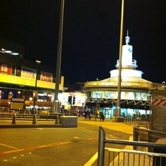 Photo taken at Queen Square Bus Station by zanna A. on 11/25/2013