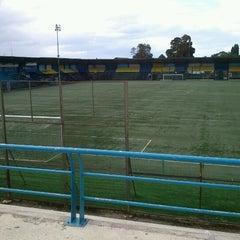 Photo taken at Estadio Ruben Marcos Peralta by Sergio L. on 2/12/2013