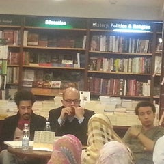 Photo taken at El Shorouk Bookstore by Engy A. on 3/22/2014
