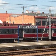 Photo taken at Rzeszów Główny by Marcel G. on 5/17/2013
