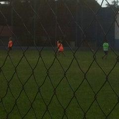 Photo taken at Gremio Esportivo by Fábio André Dorce D. on 1/31/2013