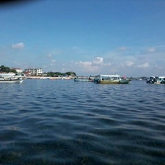 Photo taken at Tanjung Benoa Beach by Lieyha L. on 2/3/2013