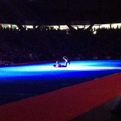Photo taken at Pacific Coliseum by Jorge D. on 9/1/2013