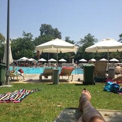 Photo taken at Nicosia Munincipal Swimming Pool by Olga Z. on 6/30/2013