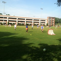 Photo taken at UGA Intramural Fields by Josh B. on 6/27/2013