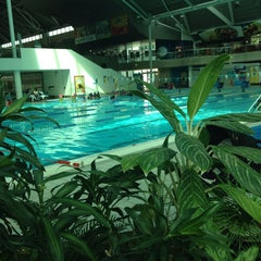Photo taken at Sydney Olympic Park Aquatic Centre by Sermin Ö. on 11/5/2014