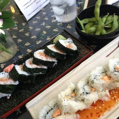 Photo taken at Sushi Bar Hime by Hazel K. on 1/10/2014