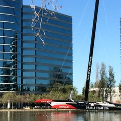 Photo taken at Oracle Plaza by Maria M. on 3/26/2015