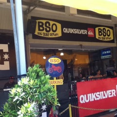 Photo taken at Bali Surf Outlet (BSO) by Toshisan S. on 10/17/2014