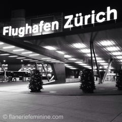 Photo taken at Zürich Airport (ZRH) by flânerie f. on 7/9/2013