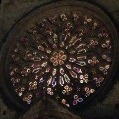 Photo taken at Monestir de Sant Cugat by Miquel M. on 2/23/2013
