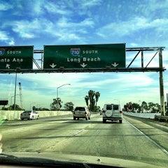 Photo taken at I-710 / I-5 Interchange by Gerard D. on 3/2/2013