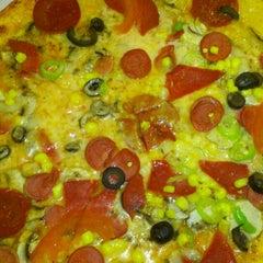 Photo taken at Felicia Pizza by Özlem Ç. on 2/27/2013
