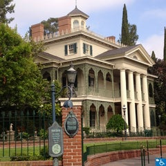 Photo taken at Haunted Mansion by Eric K. on 2/1/2013